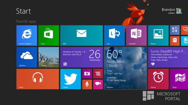 Microsoft выпустила Windows 8.1 Enterprise Preview