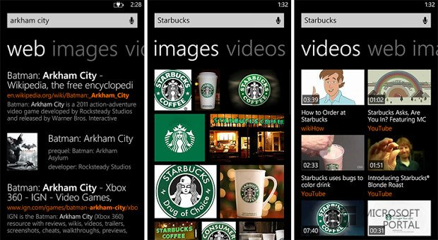 Bing на Windows Phone 8 обновили