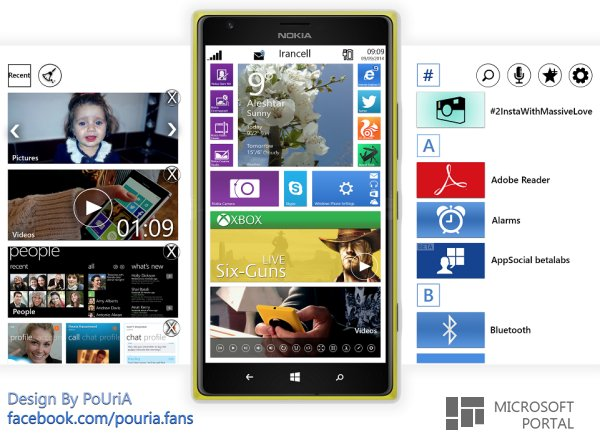 Концепт Windows Phone 9