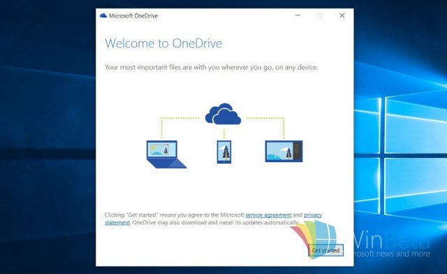 Как настроить сервис OneDrive в Windows 10