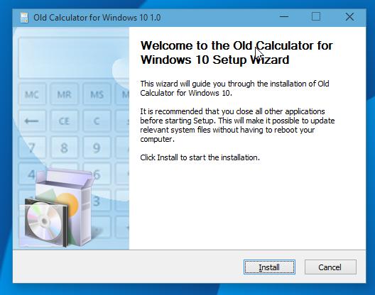 Стандартный калькулятор для Windows 10 из Windows 7 и Windows 8