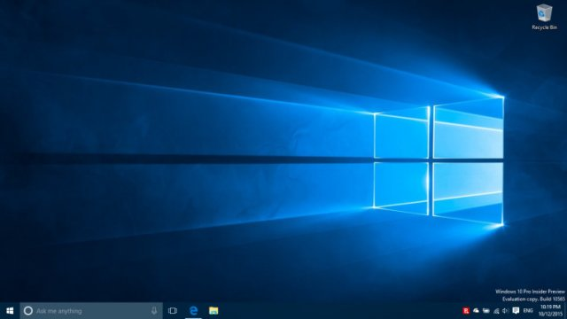 Microsoft выпустила сборку Windows 10 IP Build 10565 для кольца Slow