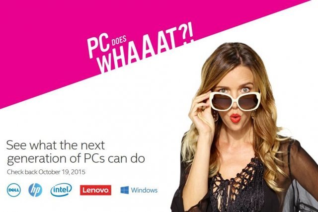 PC Does What?! – совместная рекламная кампания MS, Intel, HP, Dell и Lenovo