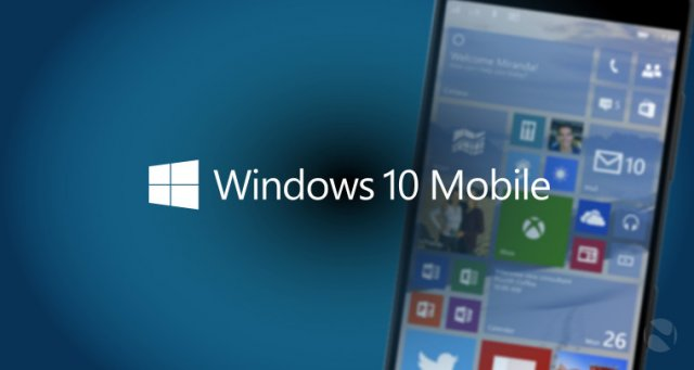 Сборка Windows 10 Mobile Build 10586 на видео