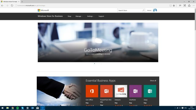 Microsoft запустила Windows Store for Business
