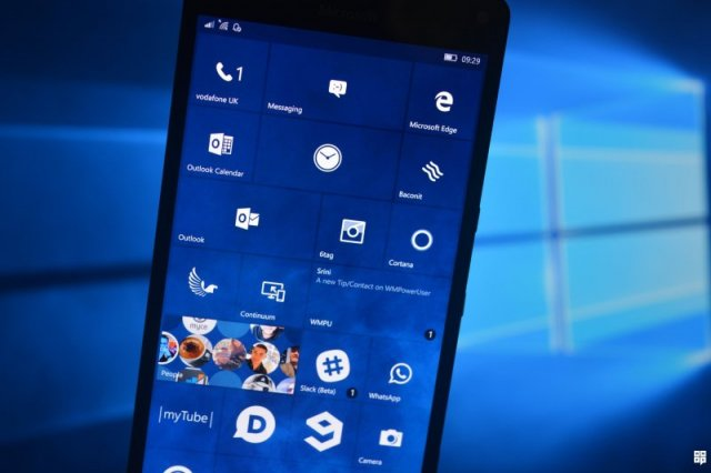 Сборка Windows 10 Mobile IP Build 10586.71 стала доступна для кольца Slow