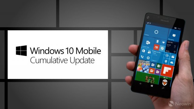 Microsoft выпустила сборку Windows 10 Mobile Build 10586.338 для кольца  Release Preview