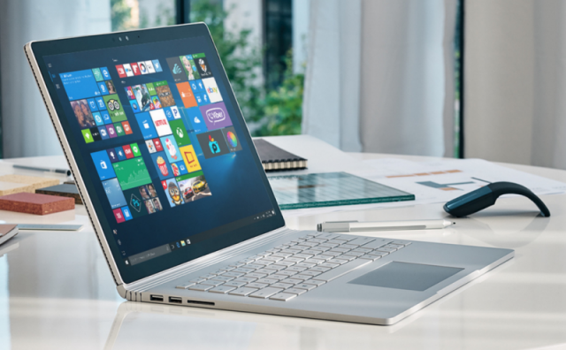 Microsoft обновила Surface Book и Surface Pro 4