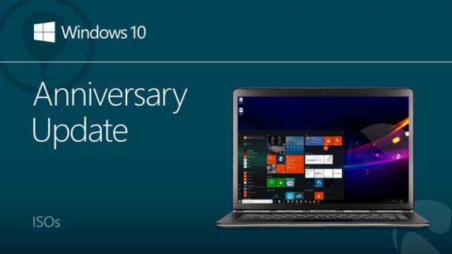 Microsoft выпустила ISO-образы Windows 10 Anniversary Update Build 14393