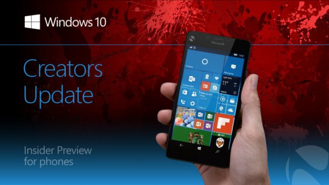 Пресс-релиз сборки Windows 10 Mobile Insider Preview Build 15051