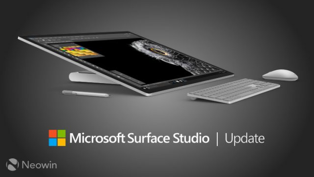 Microsoft обновила Surface Studio на Windows 10 Creators Update