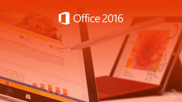 Приложения Office 2016 доступны в Windows Store