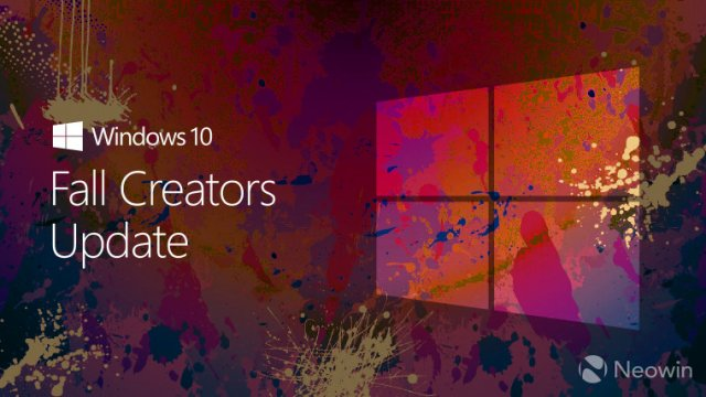Microsoft выпустит Windows 10 Fall Creators Update 17 октября