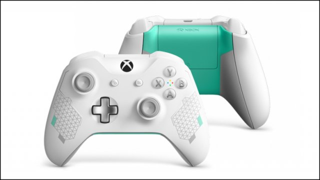 Microsoft анонсировала Xbox Wireless Controller – Sport White Special Edition