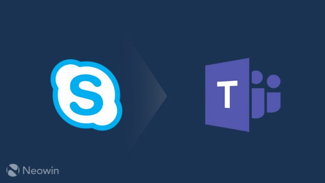 Microsoft готова осуществить переход пользователей Skype for Business на Microsoft Teams
