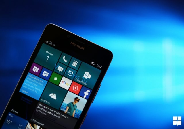 Microsoft выпустила Windows 10 Mobile Build 15254.541