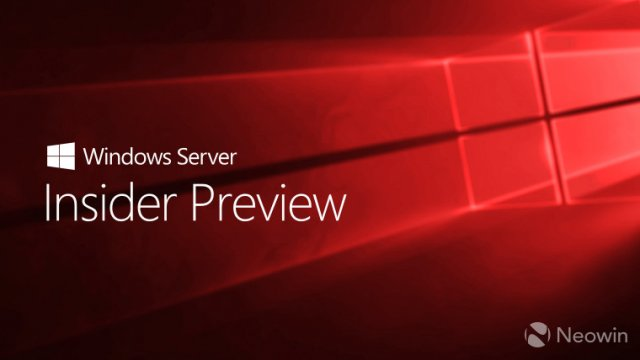 Microsoft выпустила Windows Server Insider Preview Build 18282