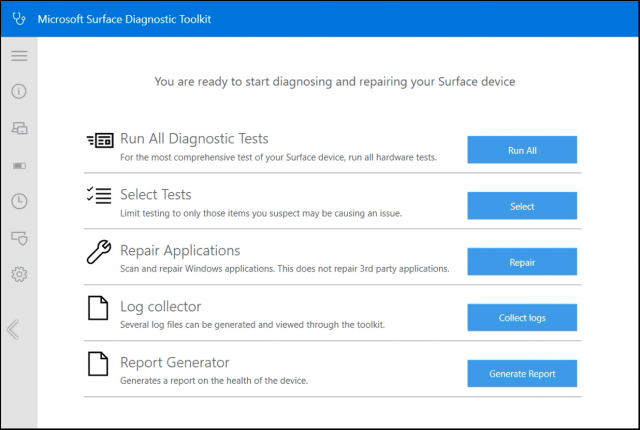 Microsoft выпустила утилиту Surface Diagnostic Toolkit for Business