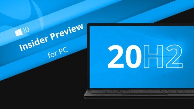 Пресс-релиз сборки Windows 10 Insider Preview Build 19541