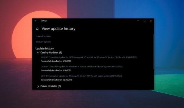 Windows 10 KB4528760 имеет проблемы с установкой