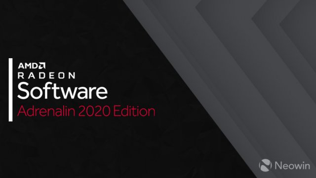 AMD выпустила драйвер AMD Radeon Software Adrenalin 2020 Edition 20.3.1