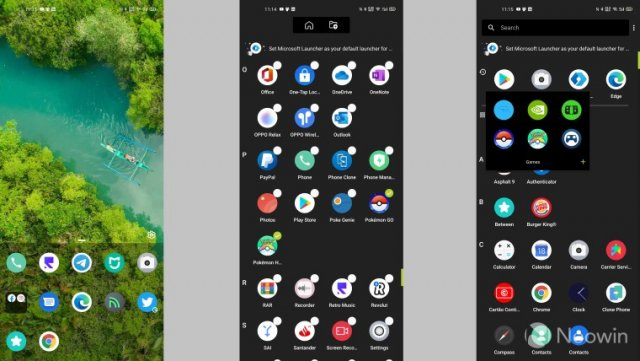 Microsoft обновила Microsoft Launcher Preview