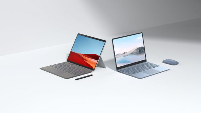 Microsoft выпустила Surface Laptop Go и новый Surface Pro X